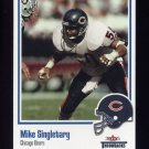 2002 Fleer Throwbacks Football #050 Mike Singletary - Chicago Bears