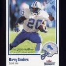 2002 Fleer Throwbacks Football #040 Barry Sanders - Detroit Lions