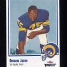2002 Fleer Throwbacks Football #032 Deacon Jones - Los Angeles Rams