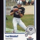 2002 Fleer Throwbacks Football #024 Fred Biletnikoff - Oakland Raiders