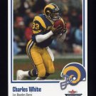 2002 Fleer Throwbacks Football #023 Charles White - Los Angeles Rams