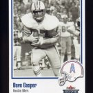 2002 Fleer Throwbacks Football #022 Dave Casper - Houston Oilers