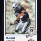 2002 Fleer Throwbacks Football #009 Bo Jackson - Los Angeles Raiders