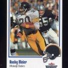2002 Fleer Throwbacks Football #006 Rocky Bleier - Pittsburgh Steelers