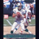 2002 Playoff Honors Football #049 Jay Fiedler - Miami Dolphins