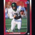 2002 Score Football #252 Joey Harrington RC - Detroit Lions