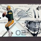 2002 SPx Football #064 Brett Favre - Green Bay Packers