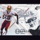 2002 SPx Football #055 Rod Gardner - Washington Redskins