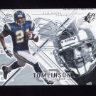 2002 SPx Football #045 LaDainian Tomlinson - San Diego Chargers