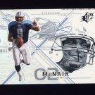 2002 SPx Football #033 Steve McNair - Tennessee Titans