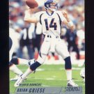 2002 Stadium Club Football #118 Brian Griese - Denver Broncos