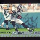 2002 Stadium Club Football #112 Fred Taylor - Jacksonville Jaguars