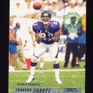 2002 Stadium Club Football #106 Shannon Sharpe - Denver Broncos