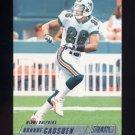 2002 Stadium Club Football #102 Oronde Gadsden - Miami Dolphins