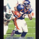 2002 Stadium Club Football #083 Terrell Davis - Denver Broncos