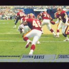 2002 Stadium Club Football #063 Stephen Davis - Washington Redskins