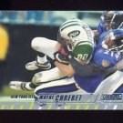 2002 Stadium Club Football #061 Wayne Chrebet - New York Jets