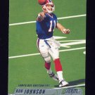 2002 Stadium Club Football #041 Rob Johnson - Tampa Bay Buccaneers