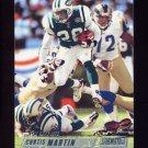 2002 Stadium Club Football #039 Curtis Martin - New York Jets