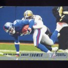 2002 Stadium Club Football #034 Amani Toomer - New York Giants