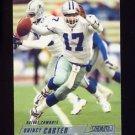 2002 Stadium Club Football #007 Quincy Carter - Dallas Cowboys