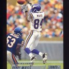 2002 Stadium Club Football #001 Randy Moss - Minnesota Vikings