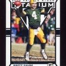 2002 Titanium Football #037 Brett Favre - Green Bay Packers