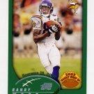 2002 Topps Football #300 Randy Moss WW - Minnesota Vikings