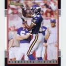 2001 Bowman Football #092 Randy Moss - Minnesota Vikings