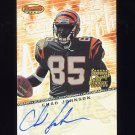 2001 Bowman's Best Autographs #BBCJ Chad Johnson RC - Cincinnati Bengals AUTO