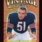 2001 Bowman's Best Vintage Best #VBDB Dick Butkus - Chicago Bears