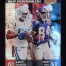 2001 Bowman's Best Football #096 Marvin Harrison / Randy Moss