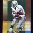 2001 Bowman's Best Football #032 James Stewart - Detroit Lions