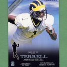2001 Crown Royale Coming Soon #06 David Terrell RC 188/500