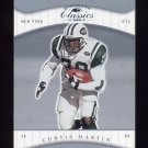 2001 Donruss Classics Football #061 Curtis Martin - New York Jets