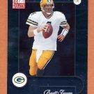 2001 Donruss Elite Football #035 Brett Favre - Green Bay Packers