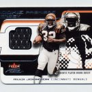 2001 Fleer Focus Rookie Premiere Jersey #RPRJ Rudi Johnson RC - Bengals Game-Used Jersey