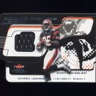 2001 Fleer Focus Rookie Premiere Jersey #RPCJ Chad Johnson RC - Bengals Game-Used Jersey