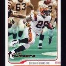2001 Fleer Focus Numbers #053 Corey Dillon - Cincinnati Bengals /315