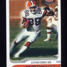 2001 Fleer Focus Football #132 Dennis Northcutt - Cleveland Browns