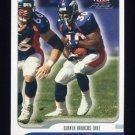 2001 Fleer Focus Football #129 Terrell Davis - Denver Broncos