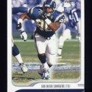 2001 Fleer Focus Football #119 Freddie Jones - San Diego Chargers