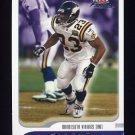 2001 Fleer Focus Football #117 Doug Chapman - Minnesota Vikings