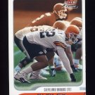 2001 Fleer Focus Football #108 Rickey Dudley - Cleveland Browns