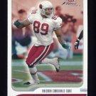 2001 Fleer Focus Football #076 David Boston - Arizona Cardinals