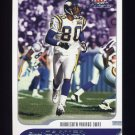 2001 Fleer Focus Football #055 Cris Carter - Minnesota Vikings