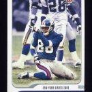2001 Fleer Focus Football #049 Ron Dixon - New York Giants
