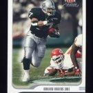 2001 Fleer Focus Football #041 Tyrone Wheatley - Oakland Raiders