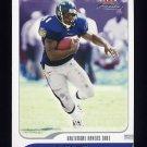 2001 Fleer Focus Football #020 Jamal Lewis - Baltimore Ravens