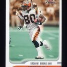2001 Fleer Focus Football #014 Peter Warrick - Cincinnati Bengals